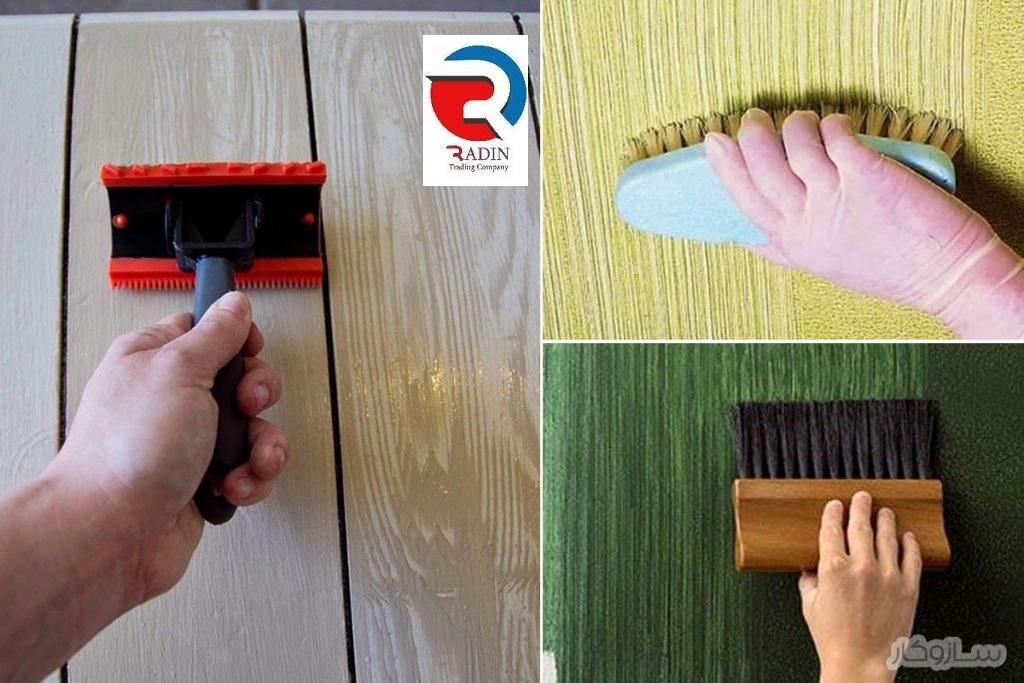 فروش انواع رنگ روغنی طرح چوب