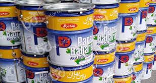 قیمت عمده اکرلیک نیم براق پارس بهاردرتهران